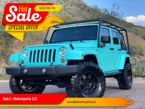 2007 Jeep Wrangler Unlimited for sale at Baba's Motorsports, LLC in Phoenix AZ