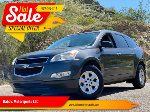 2012 Chevrolet Traverse for sale at Baba's Motorsports, LLC in Phoenix AZ