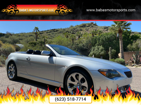 2006 BMW 6 Series for sale at Baba's Motorsports, LLC in Phoenix AZ