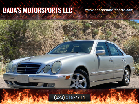 2002 Mercedes-Benz E-Class for sale at Baba's Motorsports, LLC in Phoenix AZ