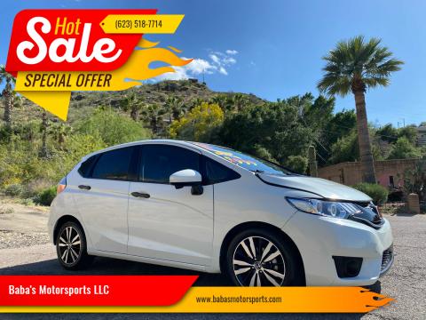 2018 Honda Fit for sale at Baba's Motorsports, LLC in Phoenix AZ