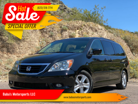 2009 Honda Odyssey for sale at Baba's Motorsports, LLC in Phoenix AZ