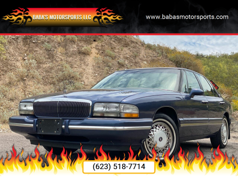 1996 Buick Park Avenue for sale at Baba's Motorsports, LLC in Phoenix AZ