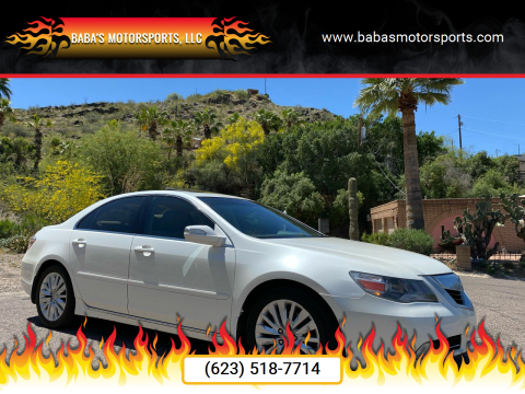 2010 Acura RL for sale at Baba's Motorsports, LLC in Phoenix AZ