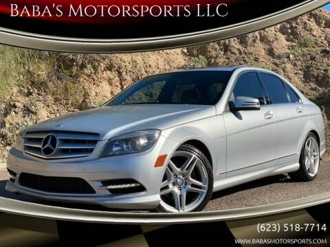 2011 Mercedes-Benz C-Class for sale at Baba's Motorsports, LLC in Phoenix AZ