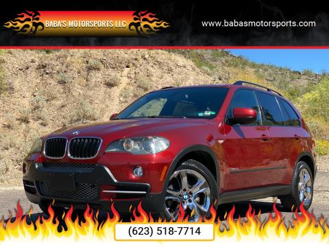 2009 BMW X5 for sale at Baba's Motorsports, LLC in Phoenix AZ