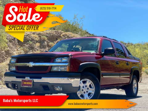 2004 Chevrolet Avalanche for sale at Baba's Motorsports, LLC in Phoenix AZ