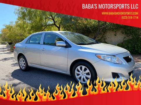 2010 Toyota Corolla for sale at Baba's Motorsports, LLC in Phoenix AZ