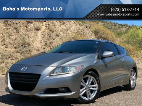2012 Honda CR-Z for sale at Baba's Motorsports, LLC in Phoenix AZ
