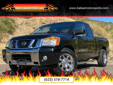 2011 Nissan Titan for sale at Baba's Motorsports, LLC in Phoenix AZ