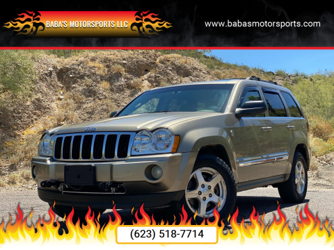 2006 Jeep Grand Cherokee for sale at Baba's Motorsports, LLC in Phoenix AZ