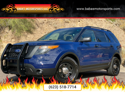 2015 Ford Explorer for sale at Baba's Motorsports, LLC in Phoenix AZ