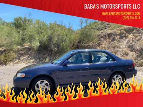 1999 Toyota Corolla for sale at Baba's Motorsports, LLC in Phoenix AZ