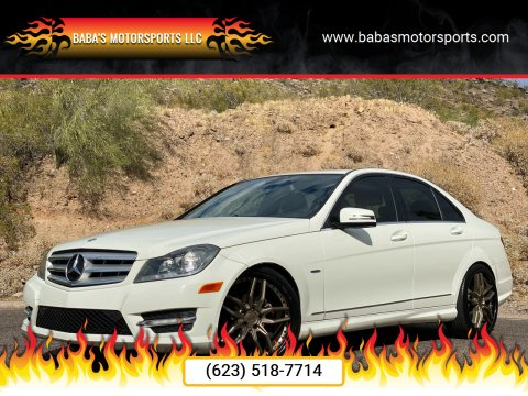 2012 Mercedes-Benz C-Class for sale at Baba's Motorsports, LLC in Phoenix AZ