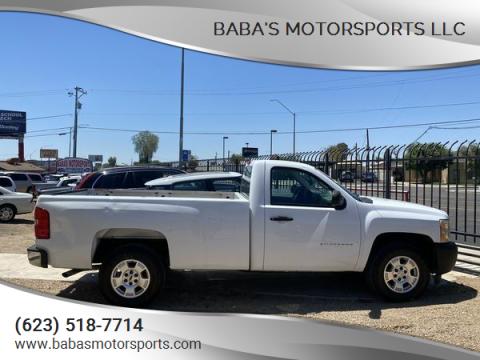 2011 Chevrolet Silverado 1500 for sale at Baba's Motorsports, LLC in Phoenix AZ