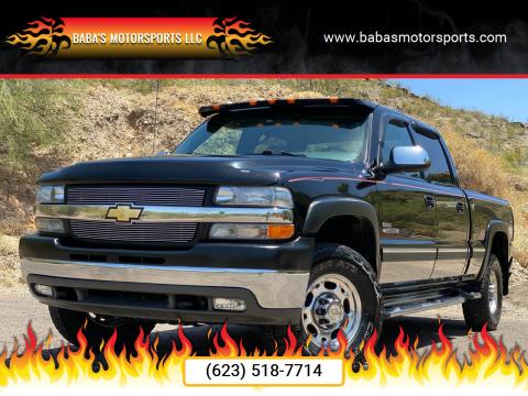 2002 Chevrolet Silverado 2500HD for sale at Baba's Motorsports, LLC in Phoenix AZ