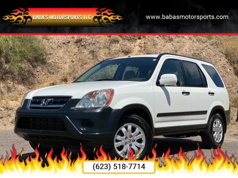 2005 Honda CR-V for sale at Baba's Motorsports, LLC in Phoenix AZ