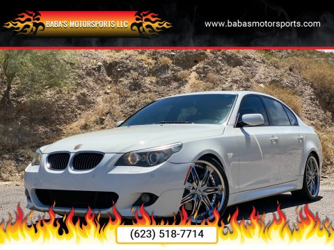 2008 BMW 5 Series for sale at Baba's Motorsports, LLC in Phoenix AZ