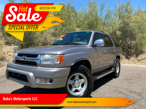 2002 Toyota 4Runner for sale at Baba's Motorsports, LLC in Phoenix AZ