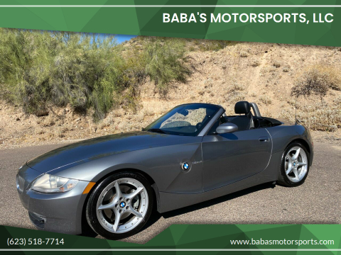2008 BMW Z4 for sale at Baba's Motorsports, LLC in Phoenix AZ