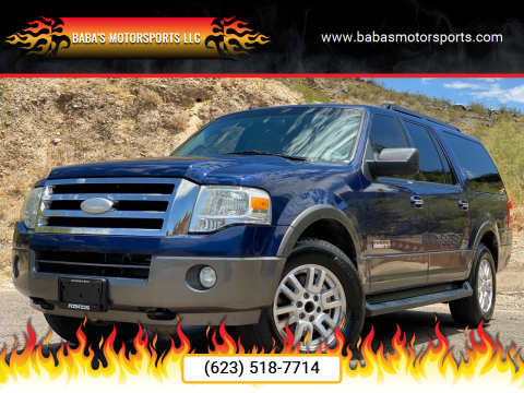 2007 Ford Expedition EL for sale at Baba's Motorsports, LLC in Phoenix AZ