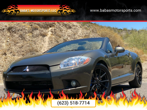 2012 Mitsubishi Eclipse Spyder for sale at Baba's Motorsports, LLC in Phoenix AZ