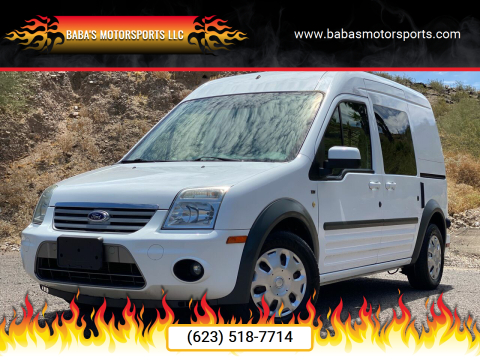 2011 Ford Transit Connect for sale at Baba's Motorsports, LLC in Phoenix AZ