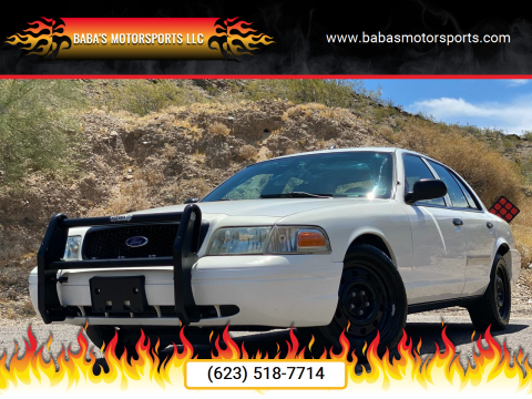 2009 Ford Crown Victoria for sale at Baba's Motorsports, LLC in Phoenix AZ