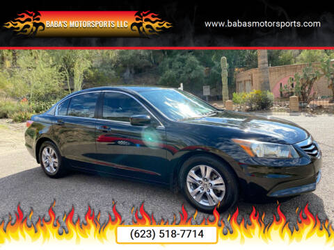 2012 Honda Accord for sale at Baba's Motorsports, LLC in Phoenix AZ