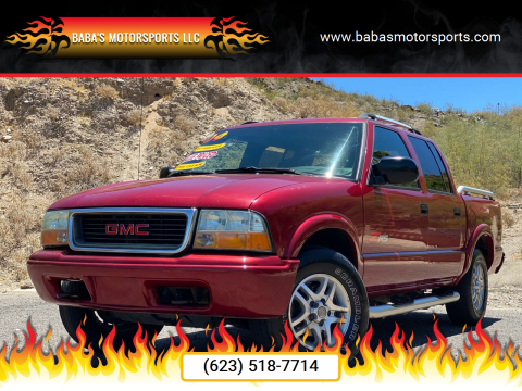 2004 GMC Sonoma for sale at Baba's Motorsports, LLC in Phoenix AZ