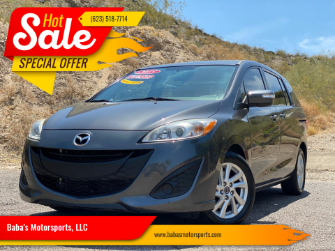 2015 Mazda MAZDA5 for sale at Baba's Motorsports, LLC in Phoenix AZ