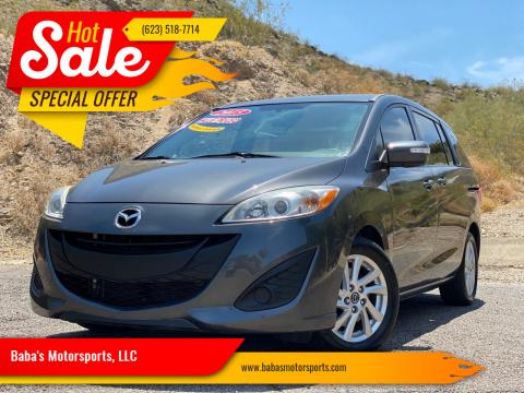 2015 Mazda MAZDA5 for sale at Baba's Motorsports, LLC in Phoenix AZ