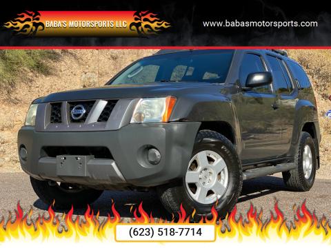 2007 Nissan Xterra for sale at Baba's Motorsports, LLC in Phoenix AZ