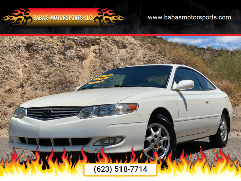 2003 Toyota Camry Solara for sale at Baba's Motorsports, LLC in Phoenix AZ