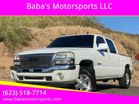 2006 GMC Sierra 1500 for sale at Baba's Motorsports, LLC in Phoenix AZ