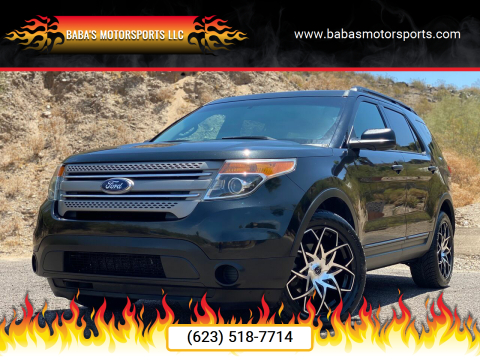2013 Ford Explorer for sale at Baba's Motorsports, LLC in Phoenix AZ
