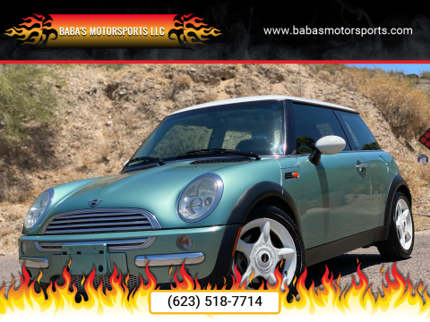 2003 MINI Cooper for sale at Baba's Motorsports, LLC in Phoenix AZ