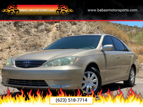 2005 Toyota Camry for sale at Baba's Motorsports, LLC in Phoenix AZ