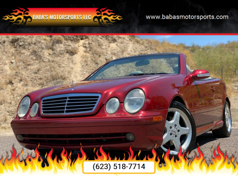 2002 Mercedes-Benz CLK for sale at Baba's Motorsports, LLC in Phoenix AZ