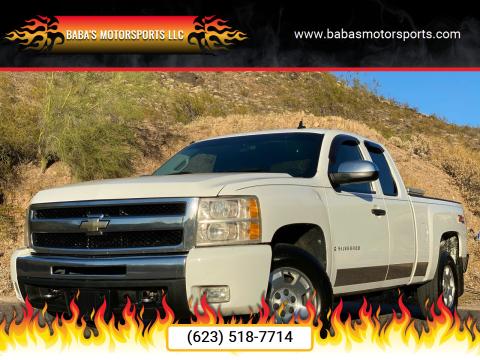 2009 Chevrolet Silverado 1500 for sale at Baba's Motorsports, LLC in Phoenix AZ