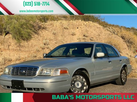 2003 Ford Crown Victoria for sale at Baba's Motorsports, LLC in Phoenix AZ