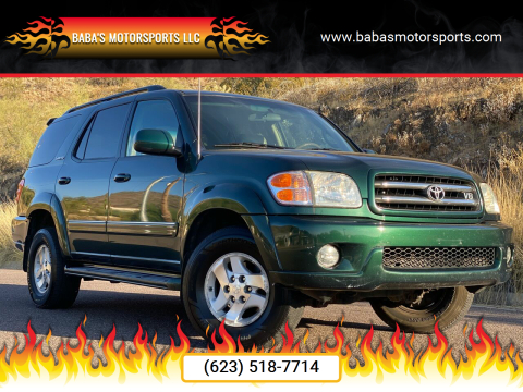 2002 Toyota Sequoia for sale at Baba's Motorsports, LLC in Phoenix AZ