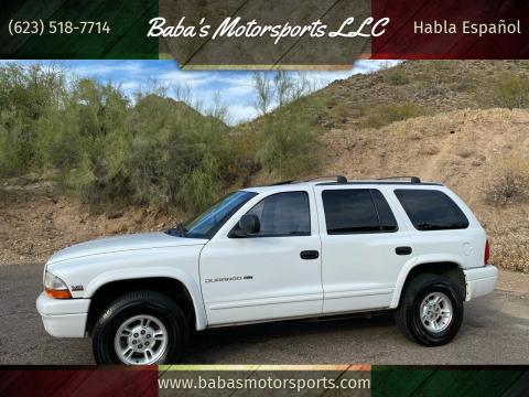 1999 Dodge Durango for sale at Baba's Motorsports, LLC in Phoenix AZ