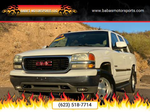 2004 GMC Yukon for sale at Baba's Motorsports, LLC in Phoenix AZ