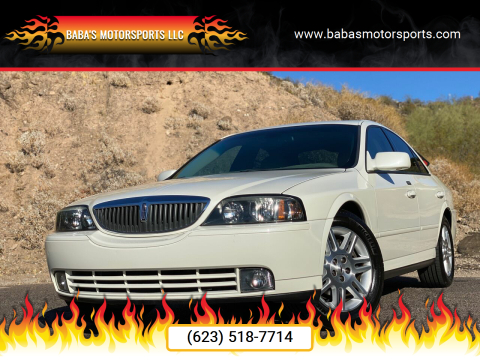 2005 Lincoln LS for sale at Baba's Motorsports, LLC in Phoenix AZ