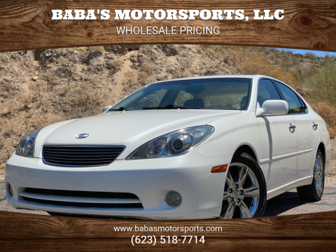 2005 Lexus ES 330 for sale at Baba's Motorsports, LLC in Phoenix AZ