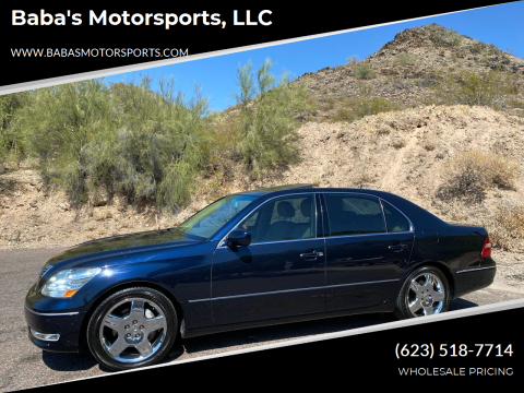2006 Lexus LS 430 for sale at Baba's Motorsports, LLC in Phoenix AZ