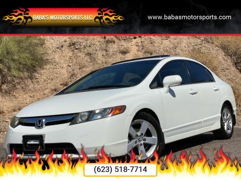 2006 Honda Civic for sale at Baba's Motorsports, LLC in Phoenix AZ