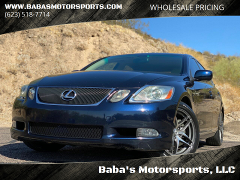 2006 Lexus GS 300 for sale at Baba's Motorsports, LLC in Phoenix AZ