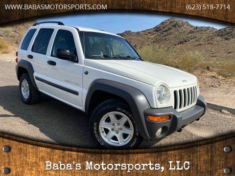 2002 Jeep Liberty for sale at Baba's Motorsports, LLC in Phoenix AZ